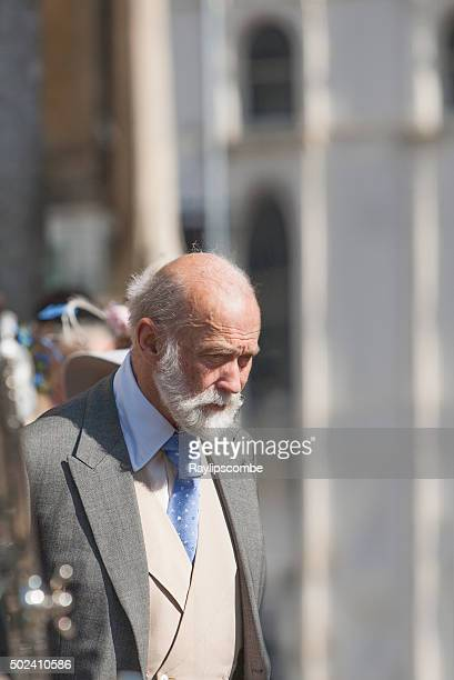 prince michael of kent outside cirencester parish - royalty free images no watermark stock photos and pictures