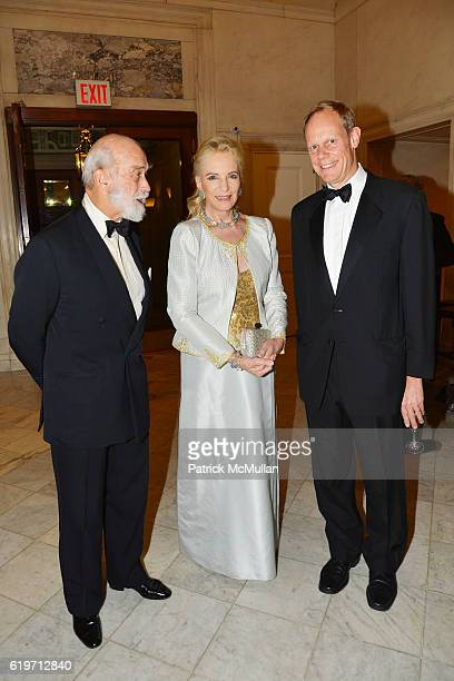 Prince Michael of Kent Princess Michael of Kent and Ambassador Matthew Rycroft attend the Oxford Philharmonic Orchestra's US Premier Performance with...