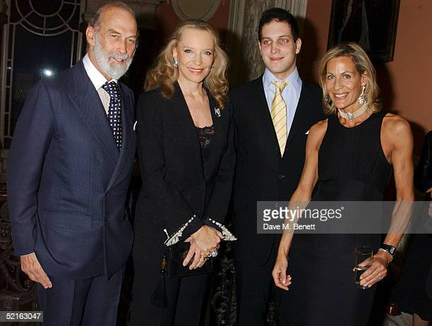 Prince Michael of Kent Princess Michael of Kent Lord Freddie Windsor and writer Leonie Frieda attend the book launch for historian Andrew Roberts new...