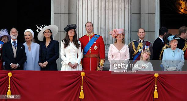 Prince Michael of Kent, Princess Michael of Kent, Sophie Winkelman, Prince William, Duke of Cambridge, Catherine, Duchess of Cambridge, Sophie,...