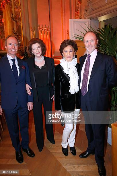 Prince Michel de Bourbon Parme The Dowager Countess Angelica Cawdor Countess Jacqueline de Ribes and Prince Charles d'Arenberg attend the 'Societe...