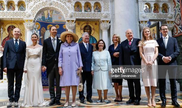 Prince Michel Valerie De Muzio Prince Dushan Princess Barbara Crown Prince Alexander Princess Katharine Princess Eugen and Prince Eugen of...