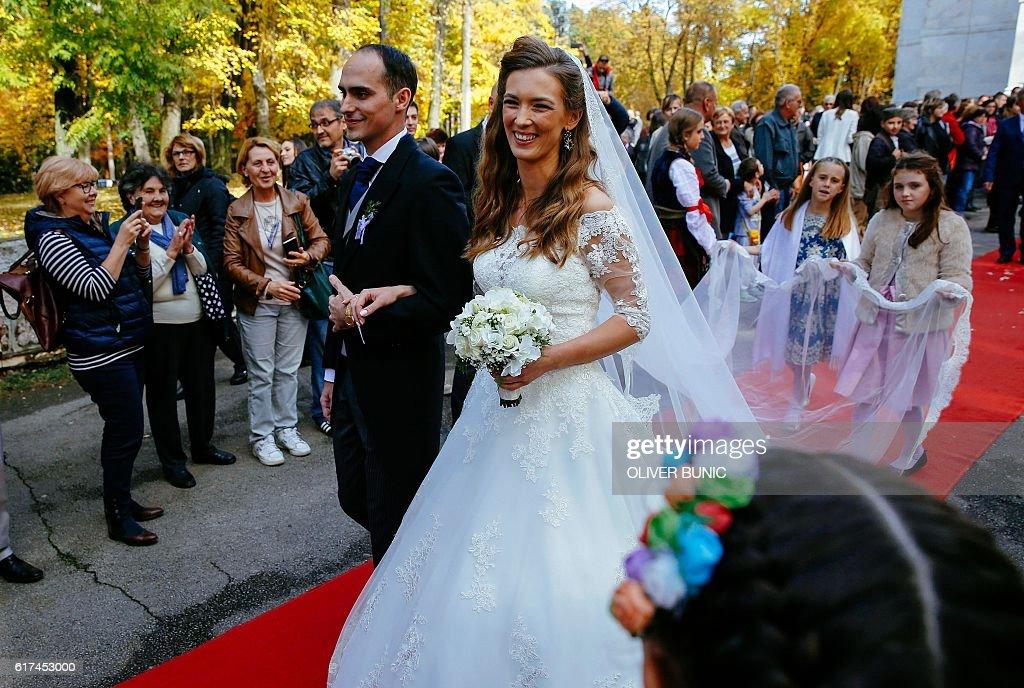 SERBIA-ROYAL-WEDDING : News Photo