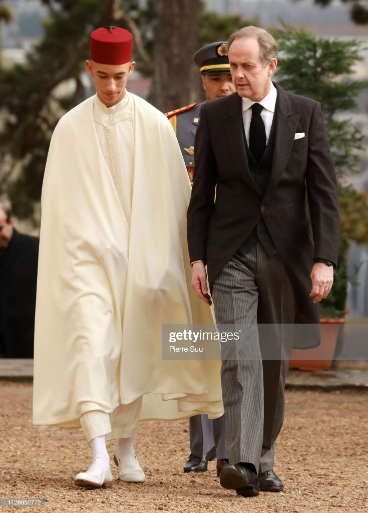 Funeral Of Prince Henri Of Orleans, Count Of Paris at Chapelle Royale In Dreux : News Photo