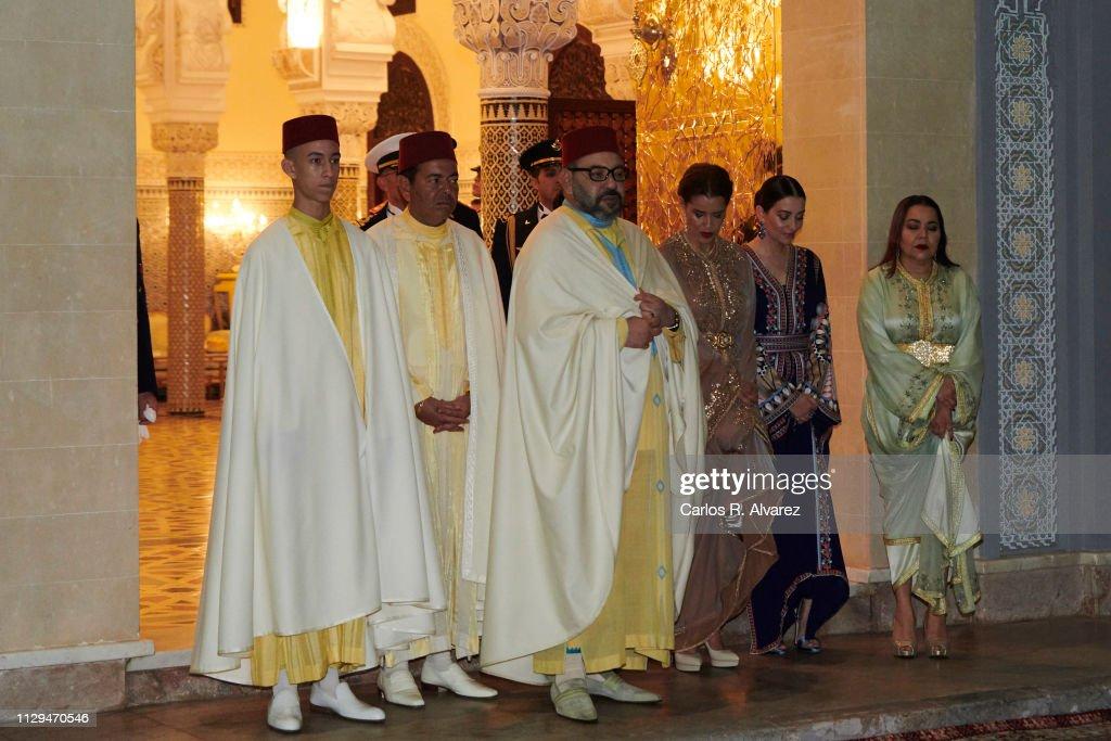 Day 1 - Spanish Royals Visit Morocco : Foto di attualità