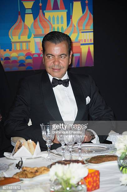 Prince Moulay Rachid of Morocco attends the royal dinner during the 16th Marrakech International Film Festival : Day Two on December 3, 2016 in...