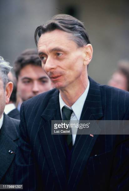 Prince Murat attends the mass given in memory of the emperor Napoleon at Les Invalides on may 05 1993 in Paris France
