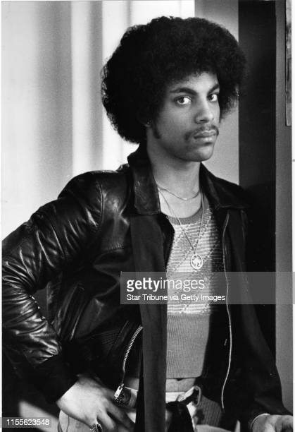 Prince, musician and entertainer, at about age 19, is shown in a Minneapolis Tribune photo, April 18 by Darlene Pfister .