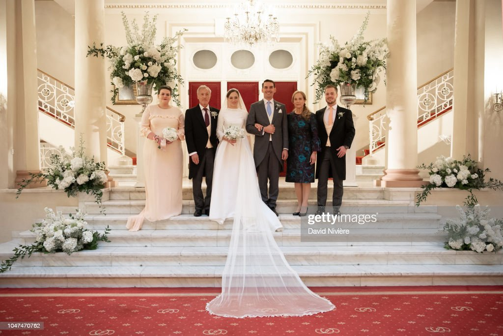 Wedding Of Prince Nicholas Of Romania And Princess Alina Of Romania In Sinaia : News Photo