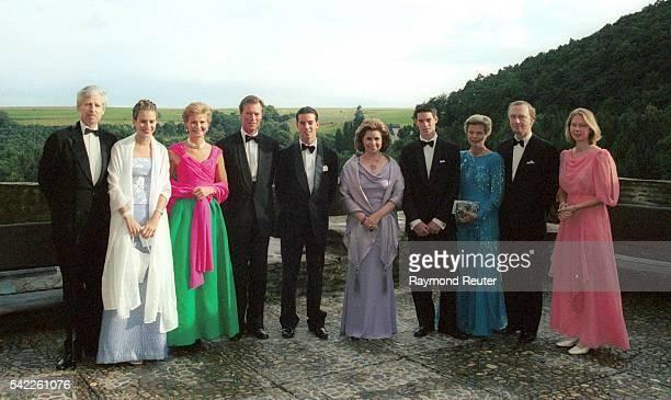 Prince Nicolas of Liechtenstein Maria Anunciata Margaretha Henri of Luxembourg Guillaume Maria Teresa Felix Marie Astrid C of Austria and Marie...
