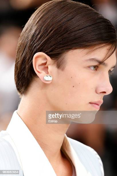 Prince Nikolai of Denmark during the Dior Homme Menswear Spring/Summer 2019 show as part of Paris Fashion Week on June 23 2018 in Paris France