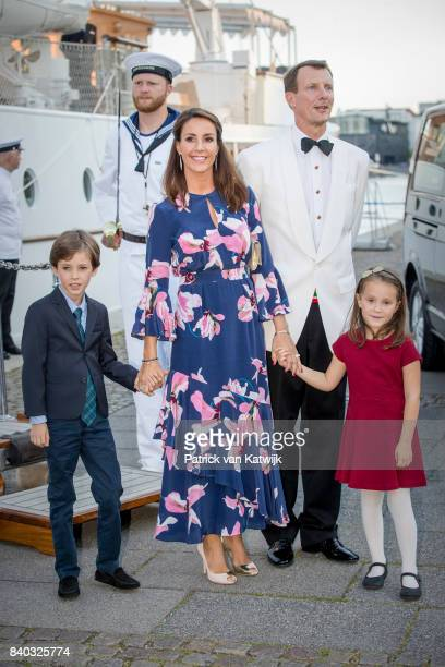 Prince Nikolai of Denmark Princess Marie of Denmark Prince Joachim of Denmark and Princess Athena of Denmark attend the 18th birthday celebration of...