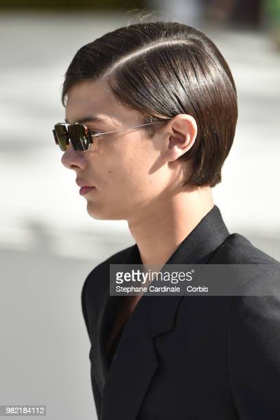 General view during the Dior Homme Menswear Spring/Summer 2019 show as part of Paris Fashion Week on June 23 2018 in Paris France