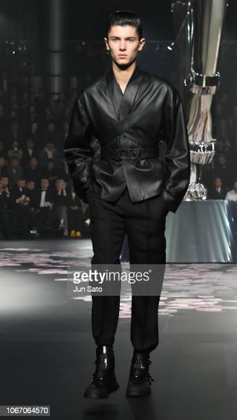 Prince Nikolai of Denmark walks the runway during the Dior Pre-Fall 2019 Men's Collection show on November 30, 2018 in Tokyo, Japan.