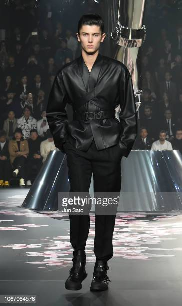 Prince Nikolai of Denmark walks the runway during the Dior PreFall 2019 Men's Collection show on November 30 2018 in Tokyo Japan