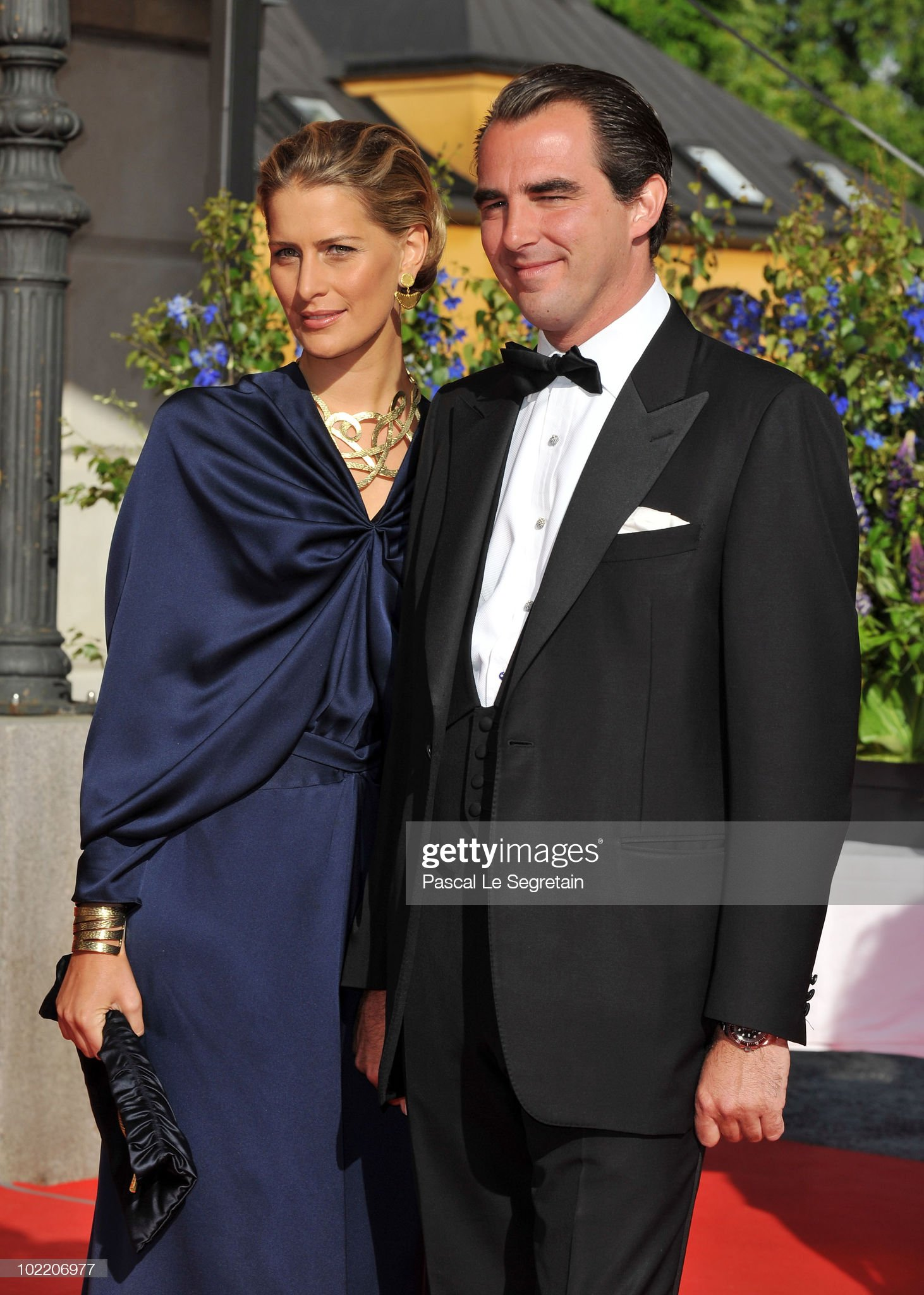 Crown Princess Victoria & Daniel Westling: Pre Wedding Dinner - Arrivals : News Photo