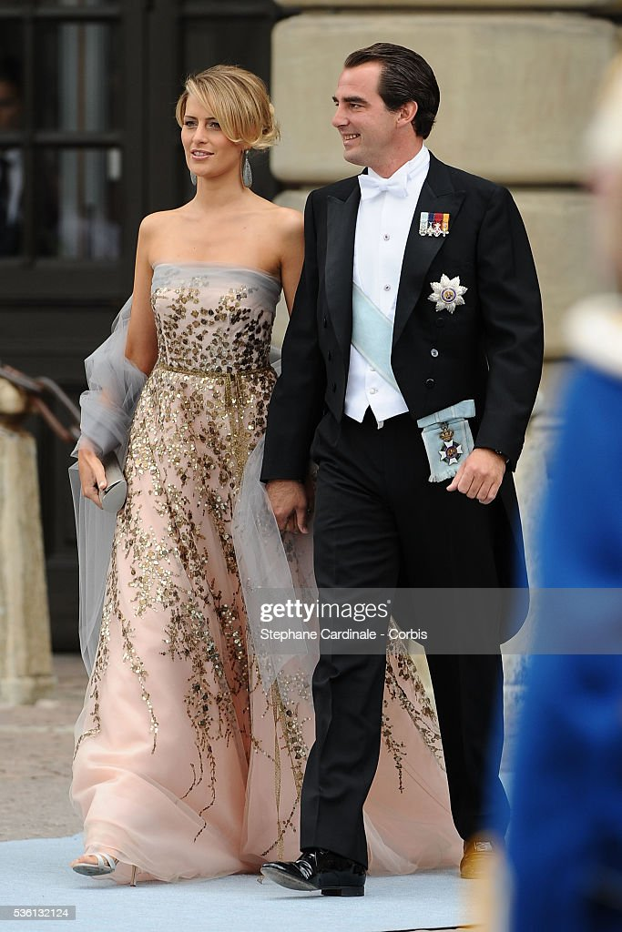 Sweden - Wedding Of Swedish Crown Princess Victoria & Daniel Westling: Arrivals : News Photo