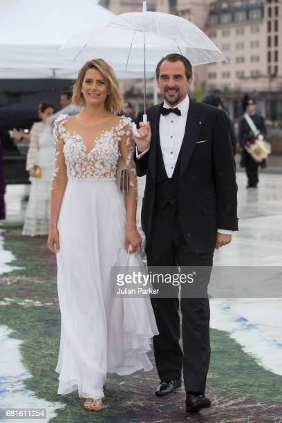 Prince Nikolaos and Princess Tatiana of Greece attend a Gala Banquet hosted by The Government at The Opera House as part of the Celebrations of the...
