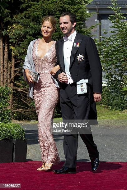 Prince Nikolaos And Princess Tatiania Of Greece Attend The Wedding Of Princess Nathalie Of SaynWittgenstein Berleburg To Alexander Johannsmann At The...