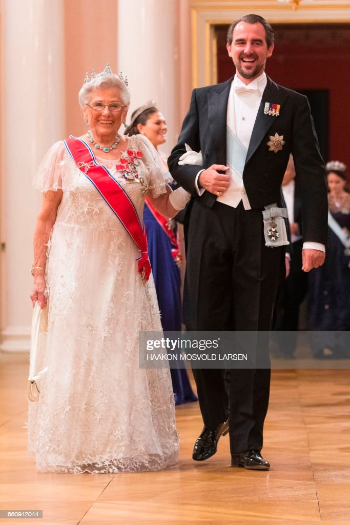 NORWAY-ROYALS-BIRTHDAY : News Photo