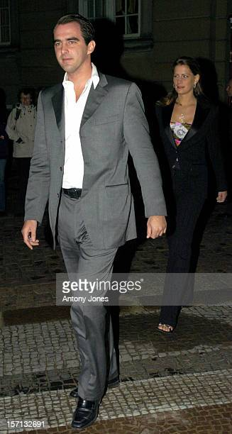 Prince Nikolaos Of Greece Attends A Dinner At Amalienborg Palace