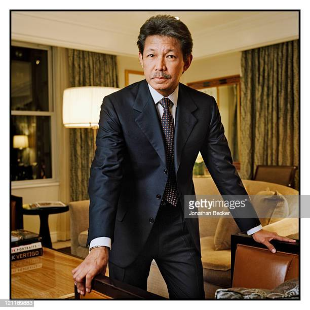 Prince of Brunei, Prince Jefri Bolkiah is photographed at the Peninsula hotel for Vanity Fair Magazine on November 17, 2010 in New York City....