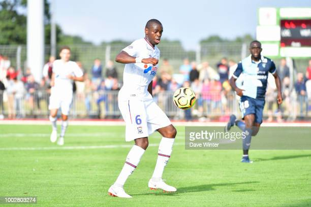 Prince Oniangue of Caen during the preseason friendly match for the Trophee des Normands between Caen and Le Havre on July 20 2018 in Vire France
