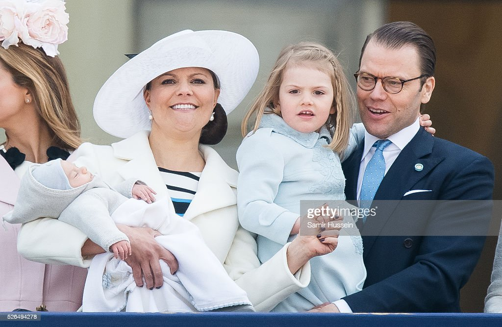 Choral Tribute and Cortege - King Carl Gustaf of Sweden Celebrates His 70th Birthday : News Photo