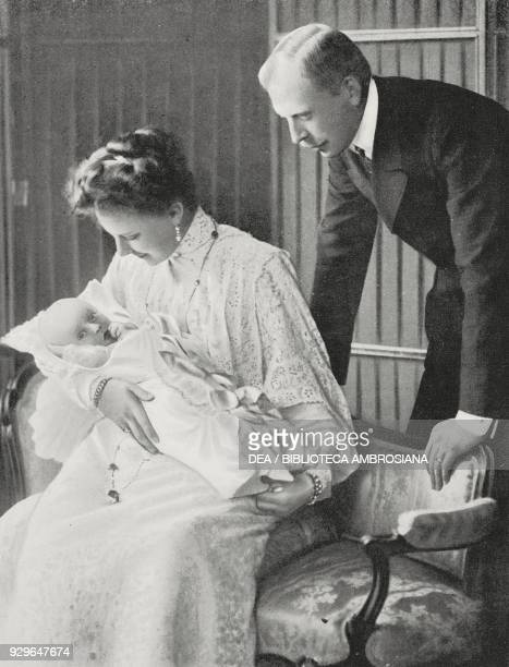 Prince Otto zu WindischGraetz his wife Elisabeth Marie of Austria and their son Franz Joseph from Le FigaroModes No 24 December 1904