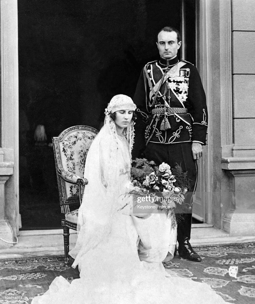 The Wedding Of Prince Paul Of Serbia In Belgrade 1923 : News Photo