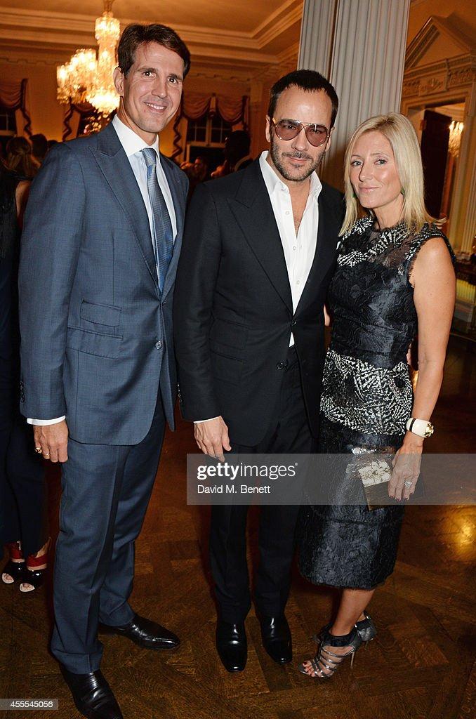 Ambassador Barzun, Mrs Brooke Barzun and Alexandra Shulman Host London Fashion Week Party At Winfield House : News Photo