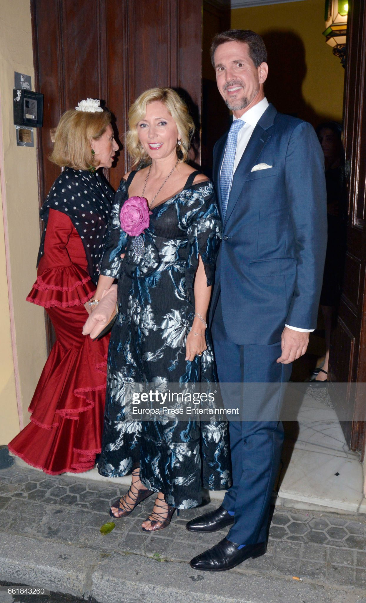 April's Fair Party At Italian Consulate In Seville : News Photo