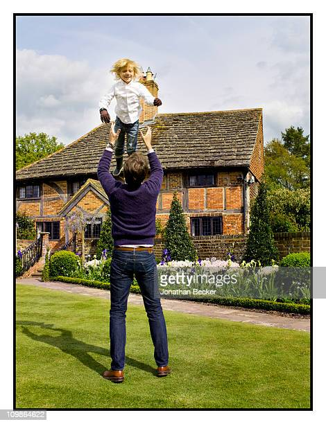 Prince Pavlos of Greece and Prince OdysseasAndreas are photographed at their home 'Beale House' for Vanity Fair Spain on May 23 2009 in West Sussex...