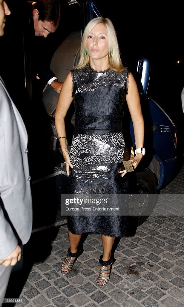 Prince Pavlos of Greece and Princess Marie-Chantal of Greece attend the Golden Wedding Anniversary of King Constantine II and Queen Anne Marie of Greece at Acropolis Museum on September 17, 2014 in Athens, Greece.