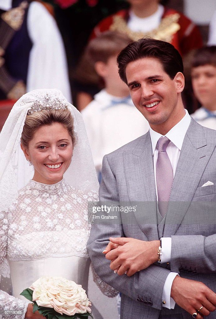 Marie-chantal And Prince Pavlos Of Greece : News Photo
