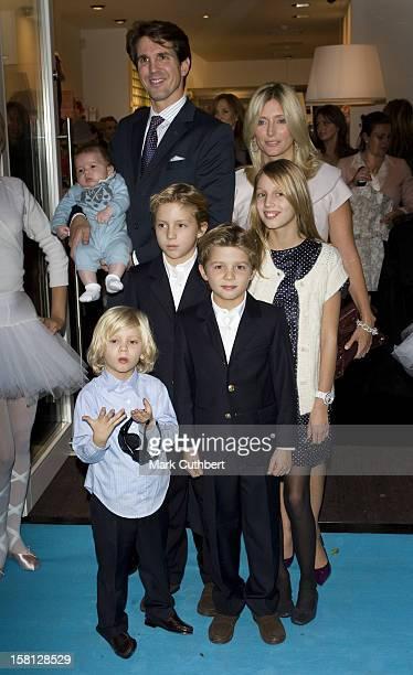 Prince Pavlos Princess Marie Chantal Of Greece Prince OdusseasKimon Princess MariaOlympia Prince Constantine Alexios Prince Aristide Stavros Prince...