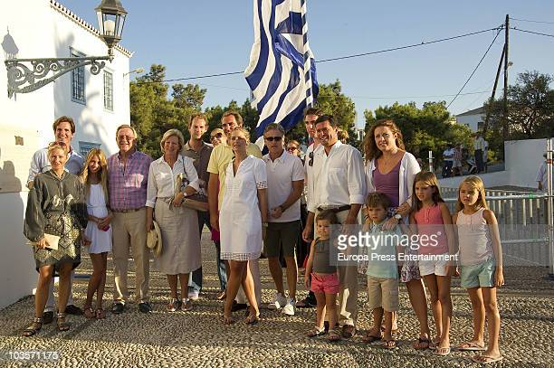 Prince Pavlos Princess MarieChantal Miller MariaOlympia King Constantine of Greece Queen Anne Marie of GreeceTatiana's brother MarieBlanche...