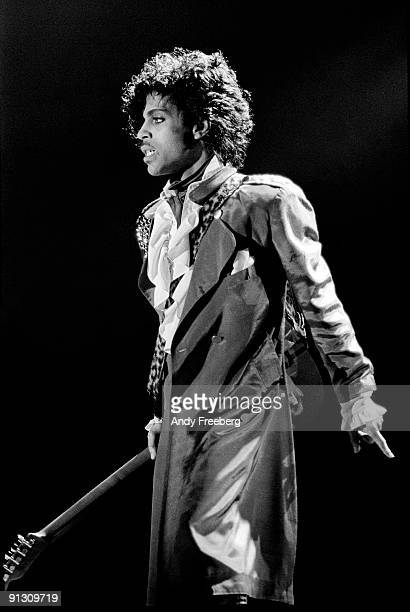 Prince performing in Detroit Michigan 1986