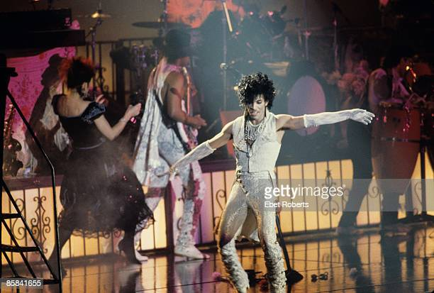COLISEUM Photo of PRINCE Prince performing on stage Purple Rain tour