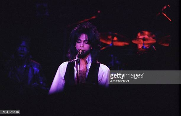 Prince performs at his Glam Slam nightclub in Minneapolis Minnesota on January 6 1991