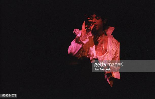 Prince performs at his Glam Slam nightclub in Minneapolis Minnesota on February 18 1993