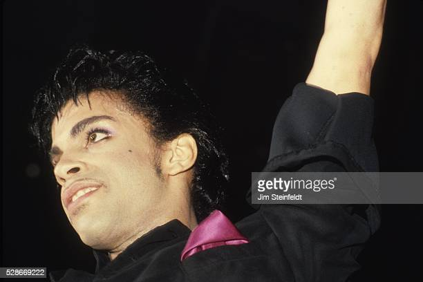 Prince performs during the Minnesota Music Awards at the Carlton Celebrity Room in Bloomington Minnesota on May 20 1986
