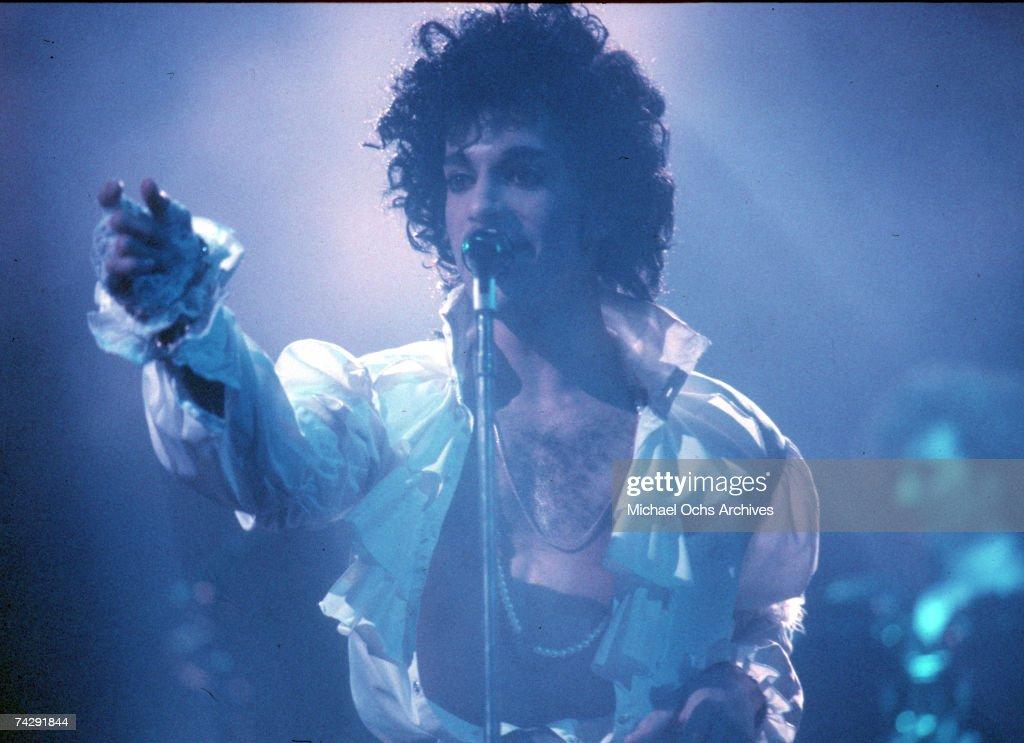 Prince Live In LA : Nachrichtenfoto