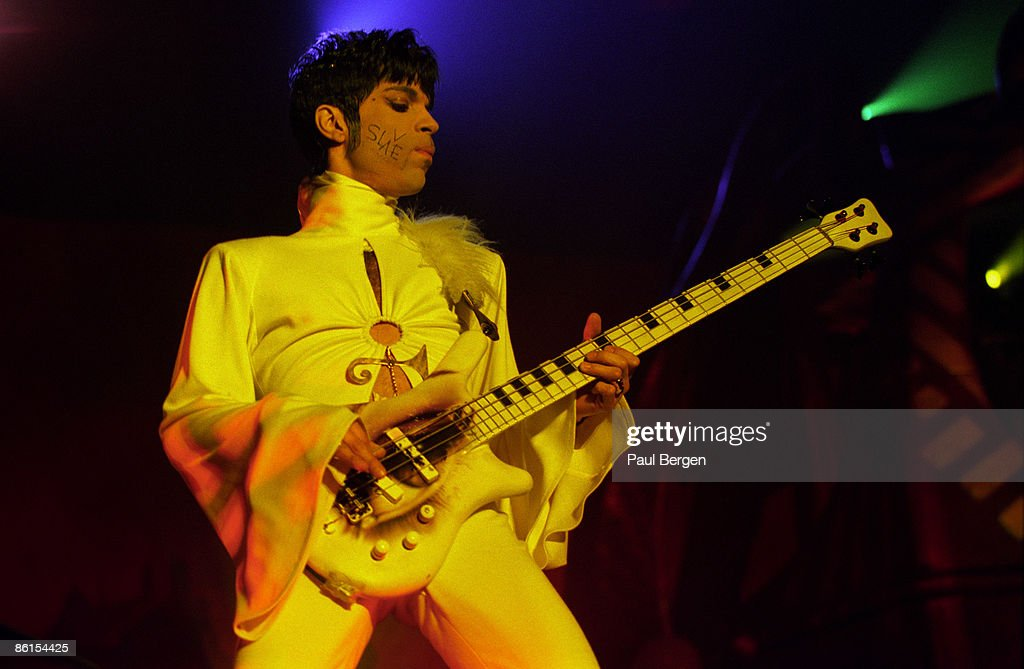 Prince Performs Live In Breda Holland : News Photo