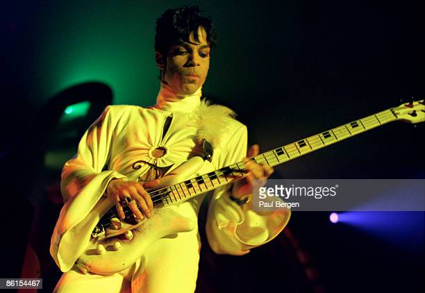 Prince performs live on stage at the Brabathallen in Breda Holland on March 24 1995 The Ultimate Live Experience Tour