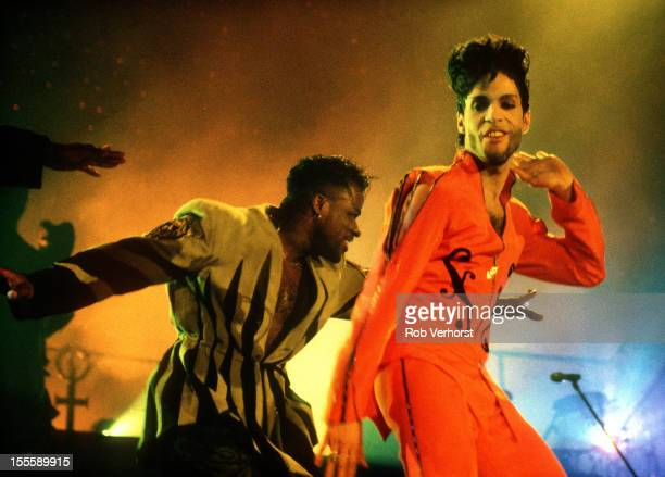Prince performs on stage at Ahoy Rotterdam Netherlands 6th July 1992