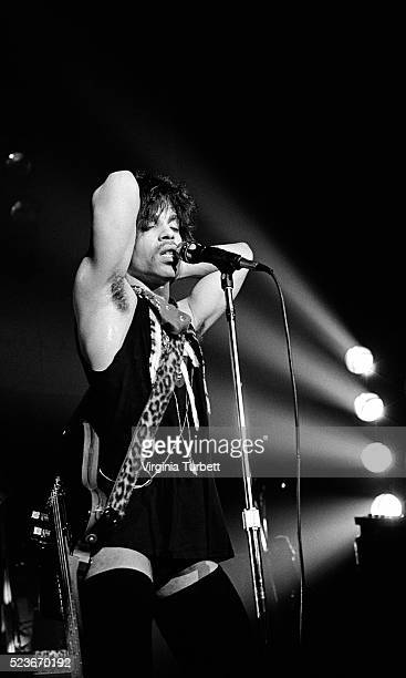 Prince performs on stage at Paradiso Amsterdam Netherlands 29th May 1981