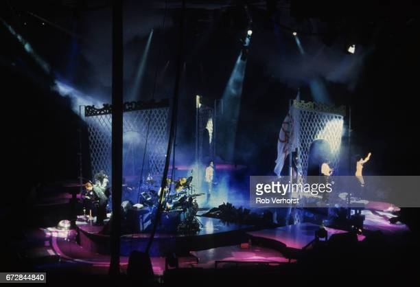 Prince performs on stage on the Lovesexy Tour Palais Omnisport de Paris Bercy Paris France 9th July 1988
