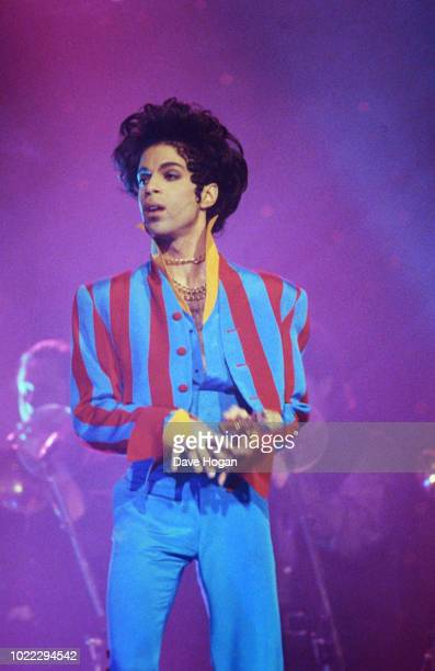 Prince performs onstage at Radio City Music Hall on March 24 1993 in New York City