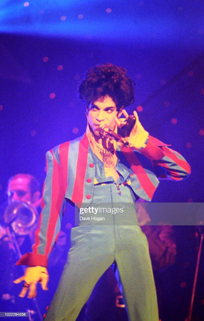 Prince At Radio City Music Hall : Foto jornalística